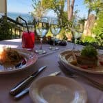courthouse restaurant - waterfront dining entree fine dining waterfront high tide garden lunchtime dining
