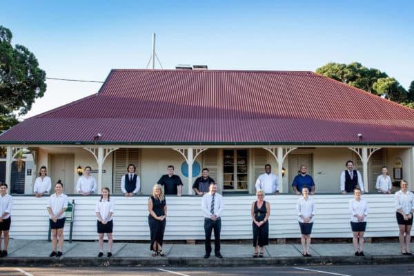 Courthouse Restaurant Staff